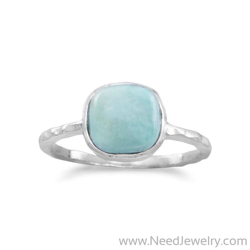 Stabilized Turquoise Stackable Ring-Rings-Needjewelry.com