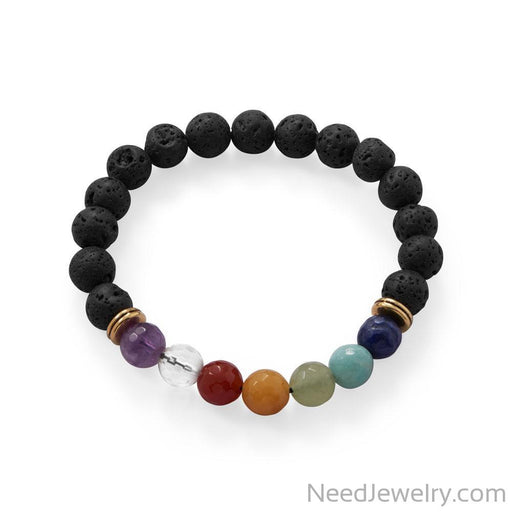 Gemstone Fashion Stretch Bracelet-Bracelets-Needjewelry.com