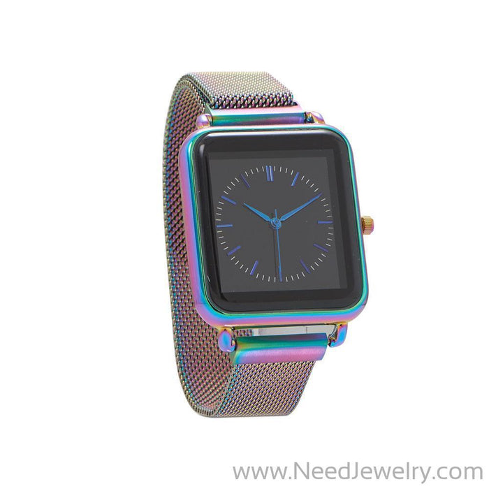 Multi Tone Mesh Magnetic Fashion Watch-Watches-Needjewelry.com