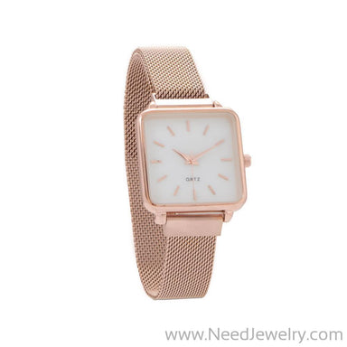 Rose Tone Magnetic Fashion Watch-Watches-Needjewelry.com