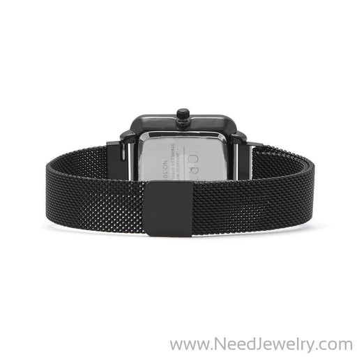 Black Mesh Magnetic Fashion Watch-Watches-Needjewelry.com