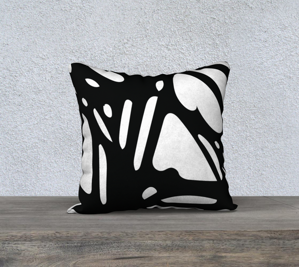 """GEO"" DESIGNER PILLOW CUSHION 18 X 18"