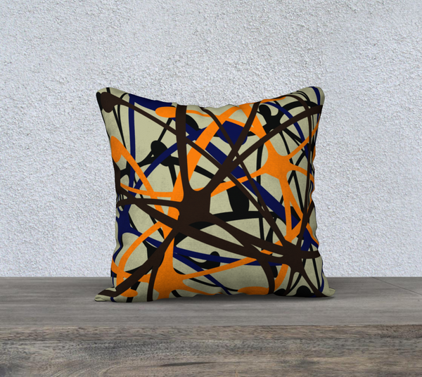 """STARLIGHT"" DESIGNER PILLOW CUSHION 18 X 18"