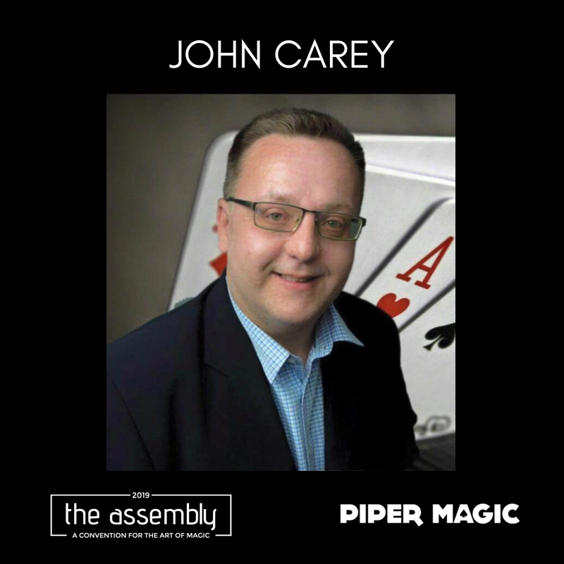 John Carey joins The Assembly 2019