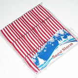 Snowstorms (Red/White rectangle) - Available at pipermagic.com.au