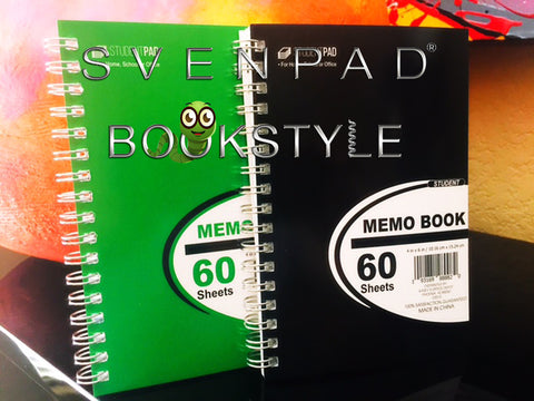 SvenPad® Bookstyle (Pairs) (Black & Green Pair) - Available at pipermagic.com.au