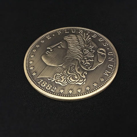 Jumbo Morgan Dollar (7cm) - Available at pipermagic.com.au