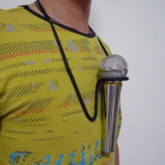 Microphone Hands Free Brace - Available at pipermagic.com.au