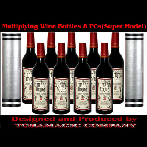 Multiplying Wine Bottles(8 Bottles) Super Model