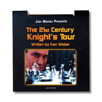21st Century Knight's Tour by Lior Manor - Available at pipermagic.com.au