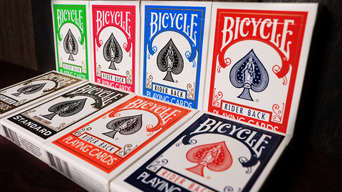 Bicycle Playing Cards Poker by US Playing Card Co - Available at pipermagic.com.au