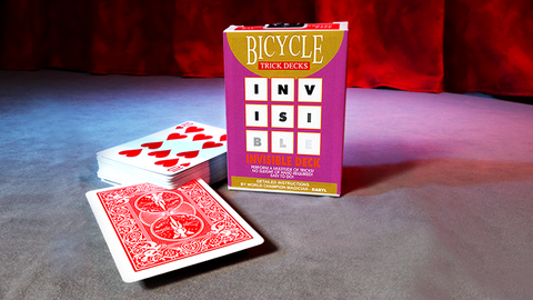 Invisible Deck - Bicycle - Available at pipermagic.com.au