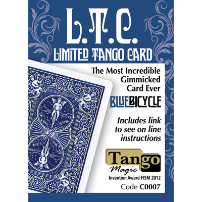 Limited Tango Card Blue (T.L.C.) by Tango - Available at pipermagic.com.au