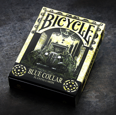 Bicycle Blue Collar Playing Cards by Collectable Playing Cards - Available at pipermagic.com.au