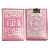 Tally Ho Reverse Circle back (Pink) by Aloy Studios / USPCC - Available at pipermagic.com.au