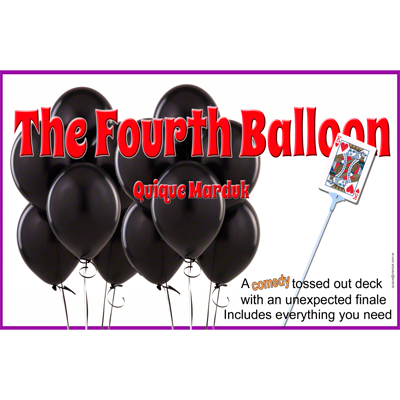 The Fourth Balloon by Quique Marduk - Available at pipermagic.com.au