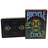 Bicycle Eerie Deck (Purple) by Gambler's Warehouse - Available at pipermagic.com.au