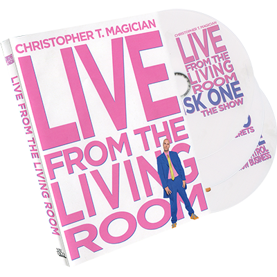 Live From The Living Room 3-DVD Set starring Christopher T. Magician - Available at pipermagic.com.au
