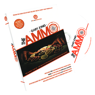 The Ammo (Gimmicks included) by Gary Jones and Full 52 - Trick - Available at pipermagic.com.au