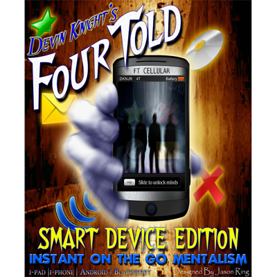 Four Told by Devin Knight - Mixed Digital DOWNLOAD - Available at pipermagic.com.au