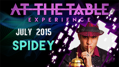 At the Table Live Lecture Spidey July 1 2015 video DOWNLOAD - Available at pipermagic.com.au