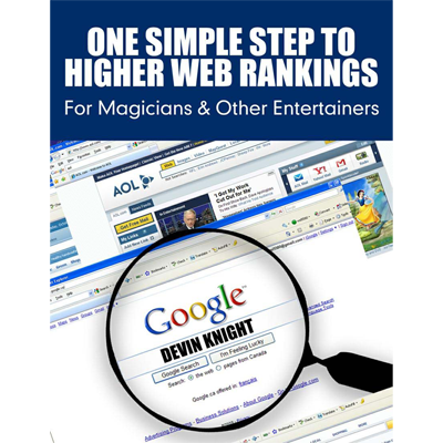 One Simple Step To Higher Web Rankings For Magicians by Devin Knight - eBook DOWNLOAD