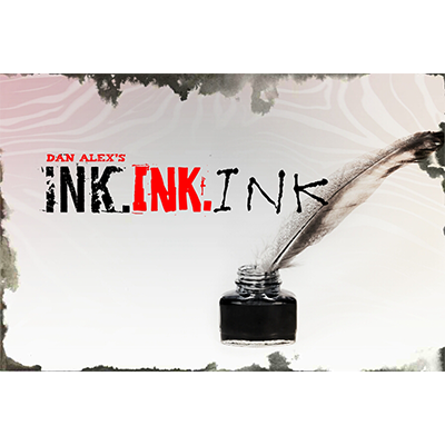 Ink. Ink. Ink. by Dan Alex - Video DOWNLOAD - Available at pipermagic.com.au