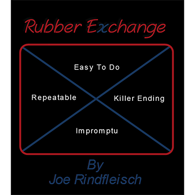 Rubber Exchange by Joe Rindfleish - Video DOWNLOAD - Available at pipermagic.com.au