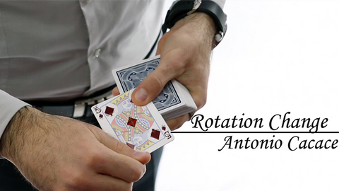 Rotation Change by Antonio Cacace video DOWNLOAD - Available at pipermagic.com.au