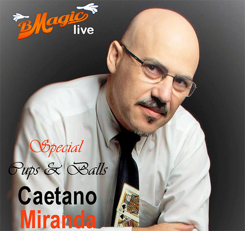 Special Cups & Balls (Portuguese Language Only) by Caetano Miranda - Available at pipermagic.com.au