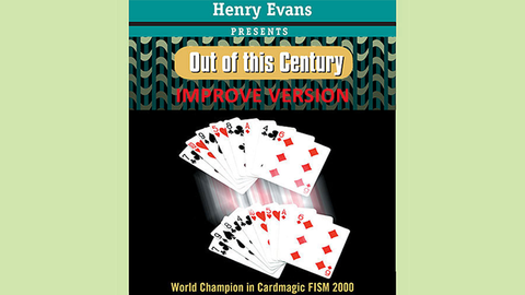 Out of this Century Red (Improve Version) by Henry Evans - Trick - Available at pipermagic.com.au