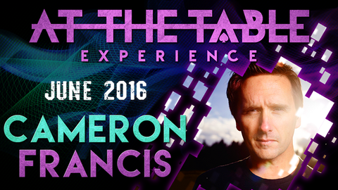 At the Table Live Lecture Cameron Francis June 1st 2016 video DOWNLOAD - Available at pipermagic.com.au
