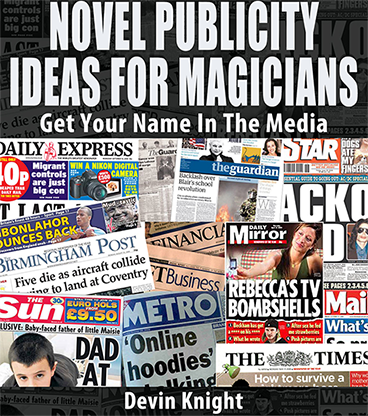 Novel Publicity For Magicians by Devin Knight eBook DOWNLOAD