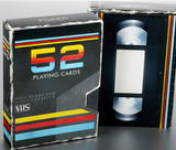 VHS Playing Cards by Collectable Playing Cards - Available at pipermagic.com.au