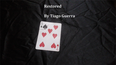 Restored by Tiago Guerra video DOWNLOAD - Available at pipermagic.com.au