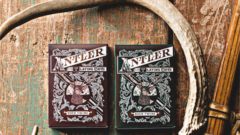 Antler Playing Cards by Dan and Dave - Available at Piper Magic Australia