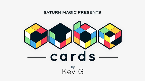 Cube Cards by Kev G - Available at pipermagic.com.au