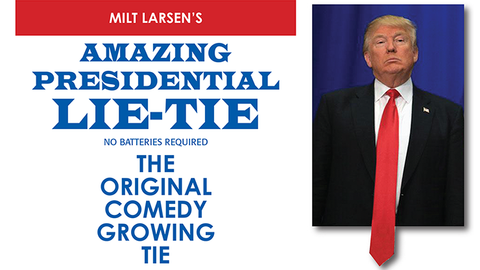 Amazing Presidential Lie Tie by Milt Larsen - Trick - Available at pipermagic.com.au