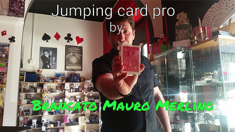 Jumping Card Pro by Brancato Mauro Merlino (magie di merlino) video DOWNLOAD