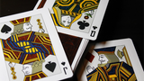 LUXX® Greille (Silver/Navy) Playing Cards - Available at pipermagic.com.au