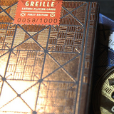 LUXX® Greille (Copper/Black) Playing Cards - Available at pipermagic.com.au