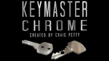 Keymaster Chrome (Gimmicks and Online Instructions) by Craig Petty - Available at pipermagic.com.au