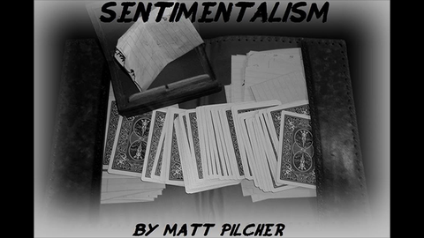 SENTIMENTALISM by Matt Pilcher video DOWNLOAD - Available at pipermagic.com.au
