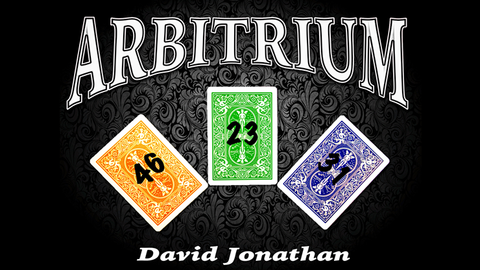 Arbitrium by David Jonathan video DOWNLOAD - Available at pipermagic.com.au