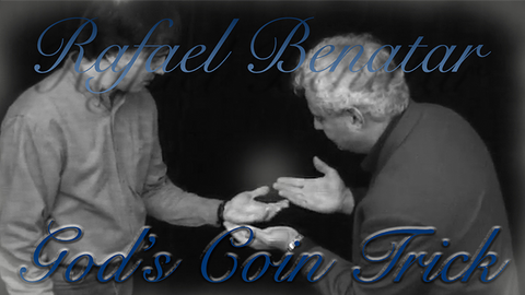 God's Coin Trick by Rafael Benatar video DOWNLOAD - Available at pipermagic.com.au