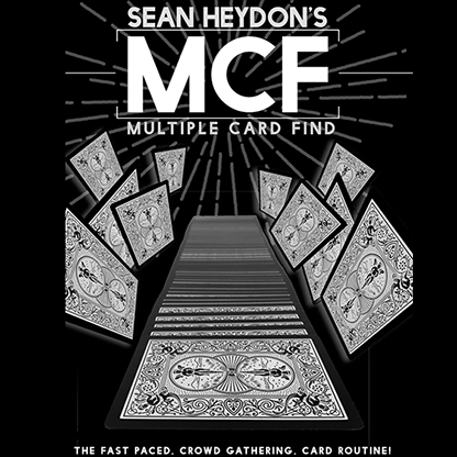MCF (Multiple Card Find) by Sean Heydon - Available at pipermagic.com.au