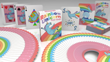 Rainbow Unicorn Fun Time! Playing Cards by Handlordz - Available at pipermagic.com.au