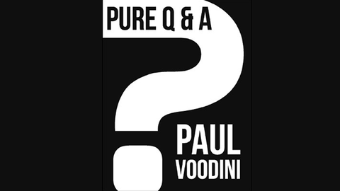 Pure Q & A by Paul Voodini eBook DOWNLOAD - Available at pipermagic.com.au