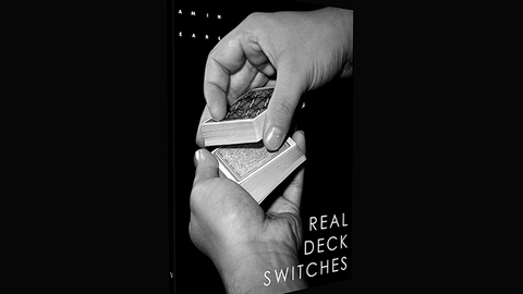 Real Deck Switches by Benjamin Earl - Available at pipermagic.com.au