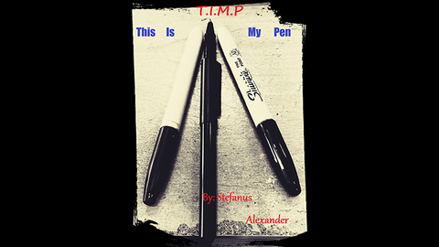 T.I.M.P - This Is My Pen by Stefanus Alexander video DOWNLOAD - Available at pipermagic.com.au